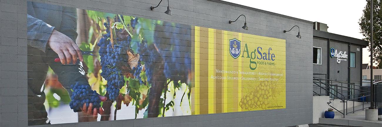 Ag Safe wall mural