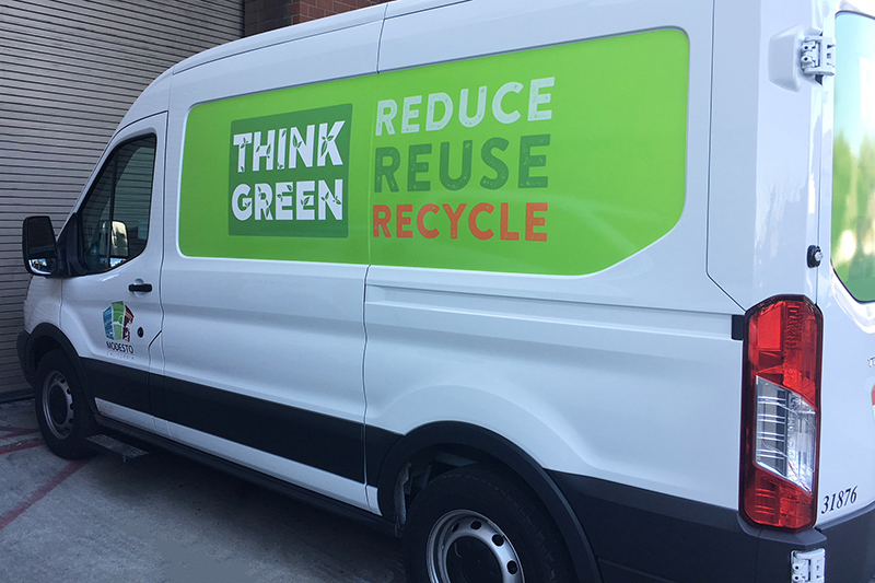 Think Green Van