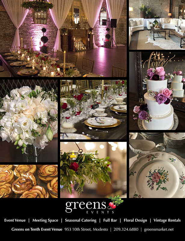 Collage of bridal images