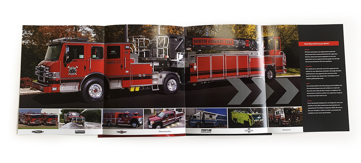 GSFA center spread brochure