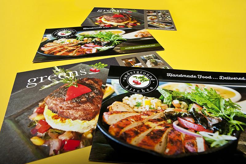 Underground Kitchen postcards